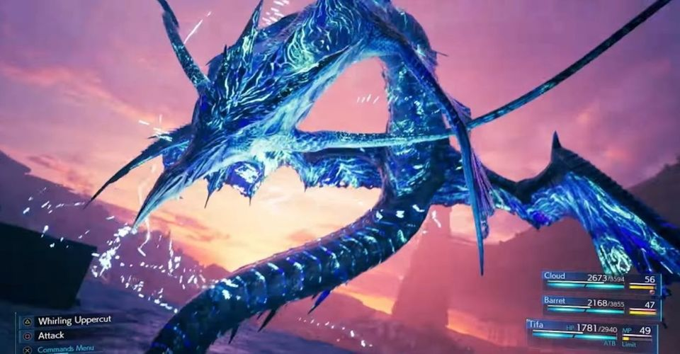 Strategi Untuk Boss Battle Leviathan Di Final Fantasy 7 Remake