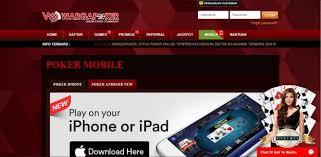 Wargapoker Sediakan APK Judi Poker Online Agar Tidak Bosan
