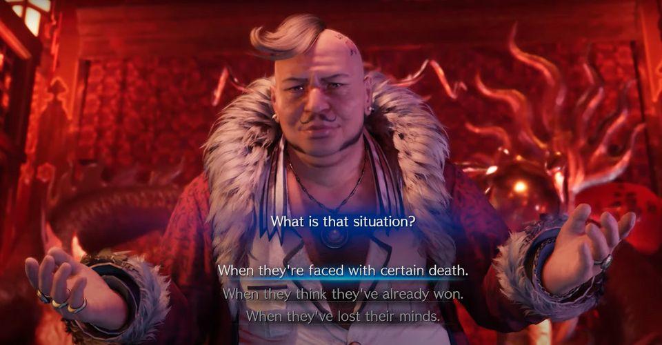 Pilihan Yang Dipilih Dari Pertanyaan Don Corneo Di Final Fantasy 7 Remake